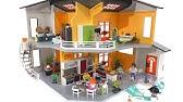 Construction Playmobil La Maison Moderne 2000 3965 Youtube