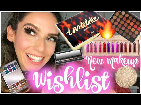 NEW MAKEUP RELEASES - Lets Chat! WISHLIST | Tarte, MAC Holiday, UD & More!