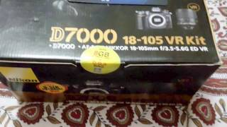Nikon D7000 DSLR Camera Unboxing amp Overview with 18-105MM 3 5-5 6G VR Kit Lens