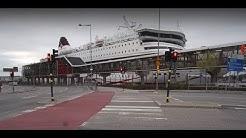 Sweden, Stockholm, walking from Nytorgsgatan to Stadsgården / Vikingline boat terminal
