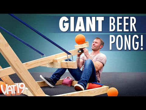 Thumbnail: Giant Catapult Beer Pong!