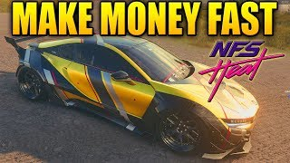 Need For Speed Heat Tips - MAKE MONEY FAST & EASY - A MILLION Every Hour!