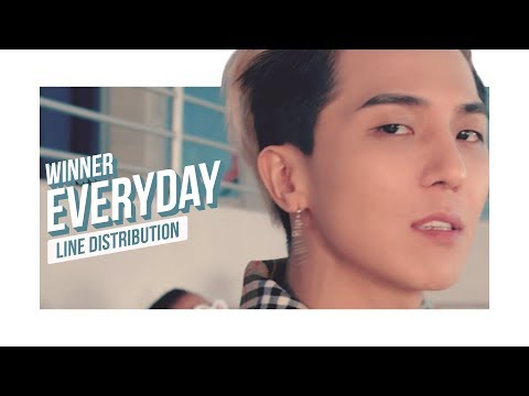 WINNER - EVERYDAY Line Distribution (Color Coded)