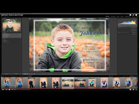 Lightroom: Using a Layout Image