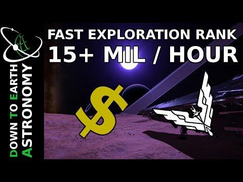 FAST ELITE EXPLORATION RANK | 15+ MIL / HOURS | ELITE DANGEROUS