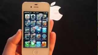 Какие приложения на моём iPhone 4S, что установлено?