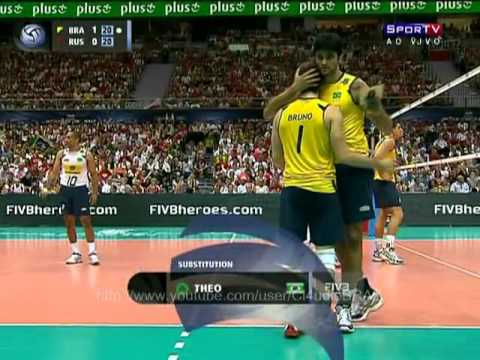 Brazil vs Russia - FIVB Volleyball World League Final