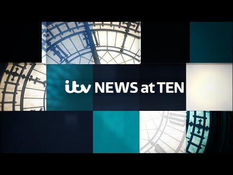 New ITV News At Ten running titles