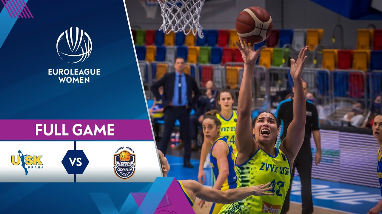 ZVVZ USK Praha v VBW Arka Gdynia | Full Game - EuroLeague Women 2020