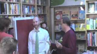 Jonathan Ames Gets Knifed by Throwdini!