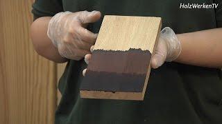 Lassen Sie Ihr Holz rosten!