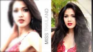 Miss Universe Thailand 2013 , CHALITA  Moscow Rusia