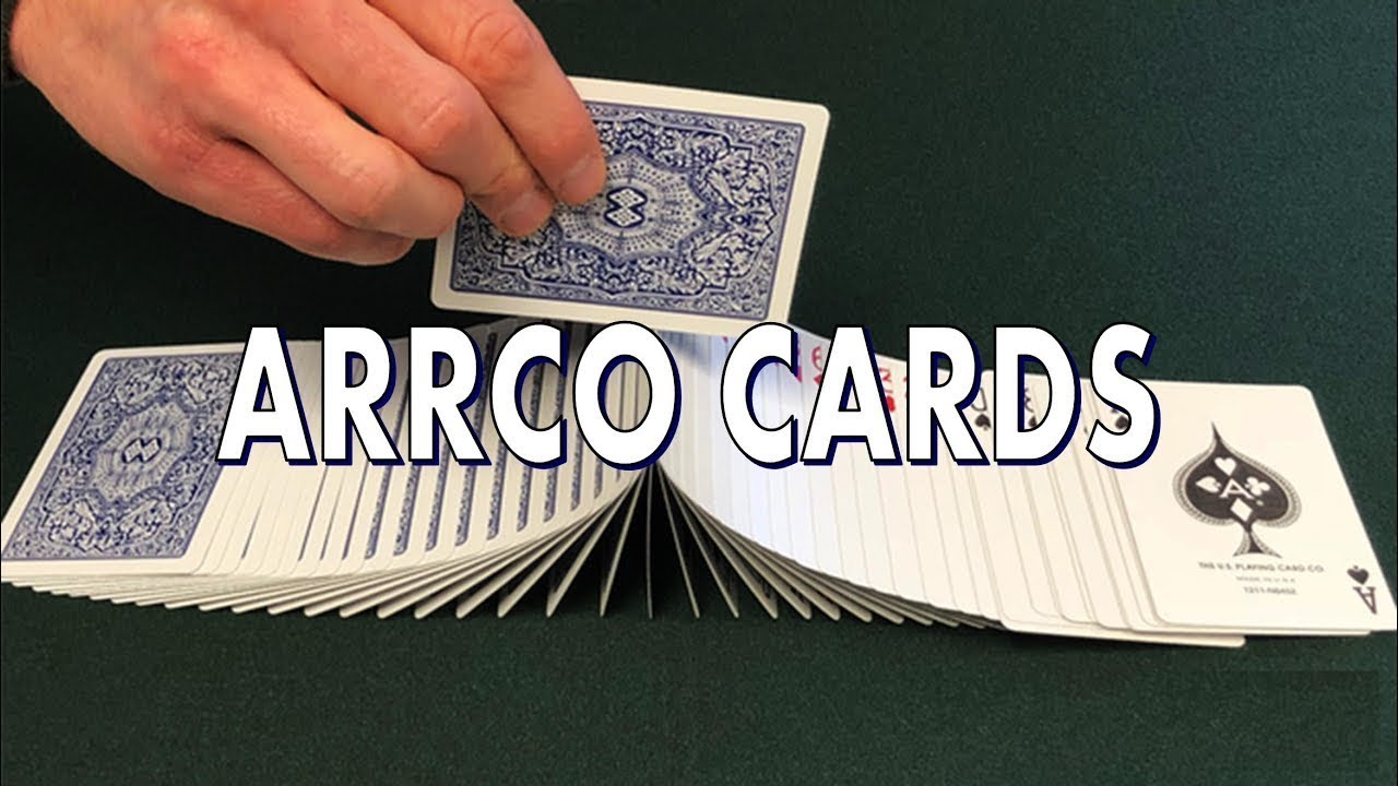 how to date arrco playing cards