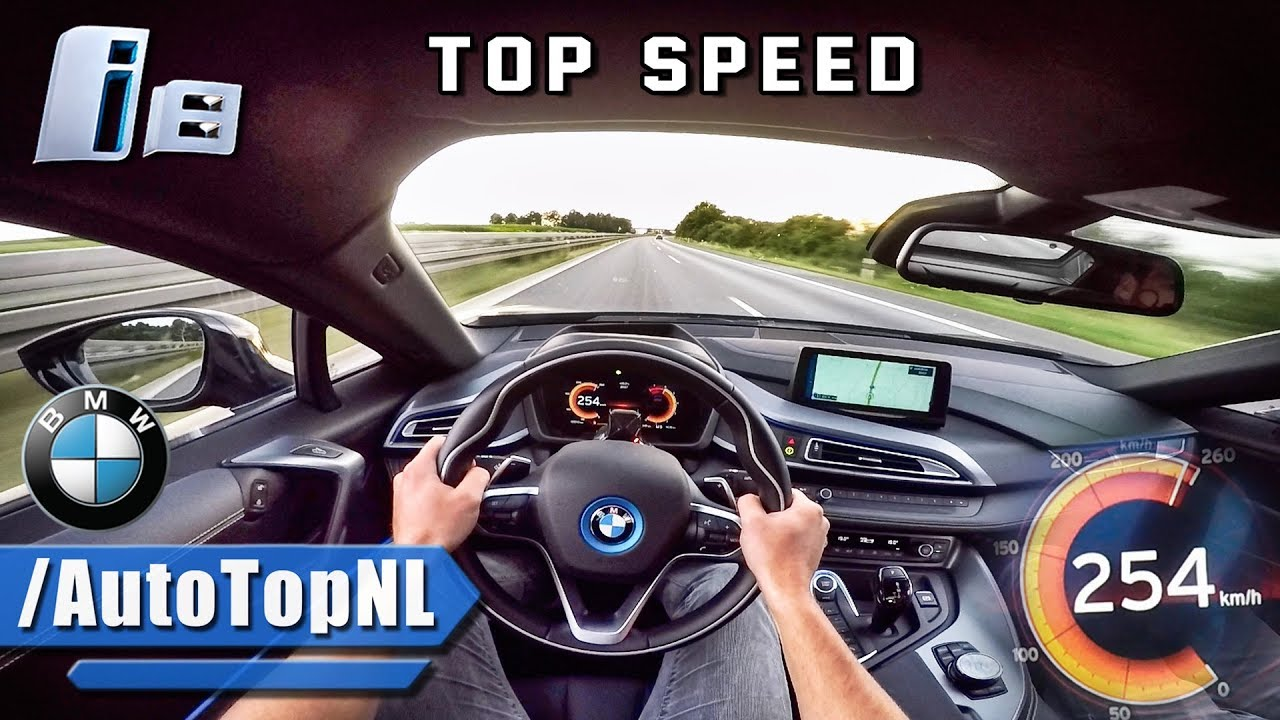 Bmw I8 Autobahn Pov Acceleration Top Speed By Autotopnl Youtube