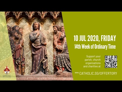 Catholic Weekday Mass Today Online -  Friday, 14th Week of Ordinary Time 2020