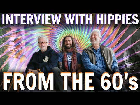 INTERVIEW WITH HIPPIES FROM THE 1960s! (Gurus, Spirituality, Ram Dass & More... )