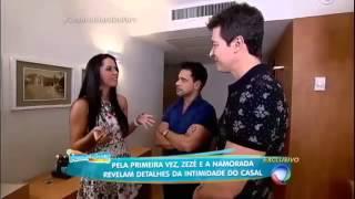 Entrevista de Zezé di Camargo e namorada Gracielle