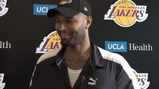 DeMarcus Cousins talks about what swayed him to join the Lakers in his free agency