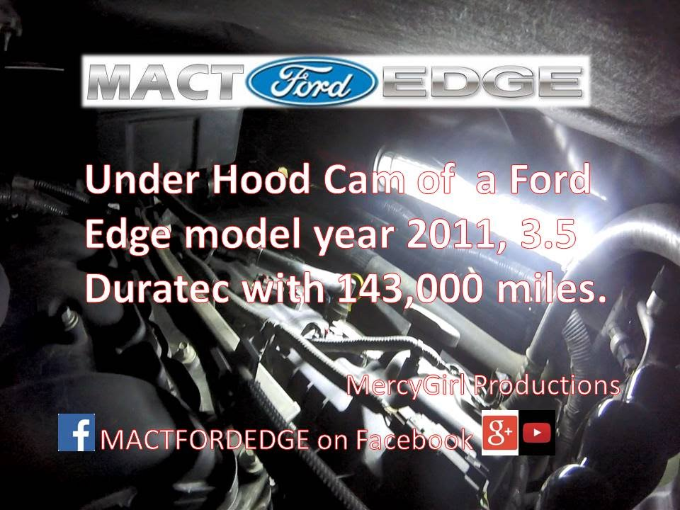 Ford Edge Under Hood Duratec   V Wide Open Throttle