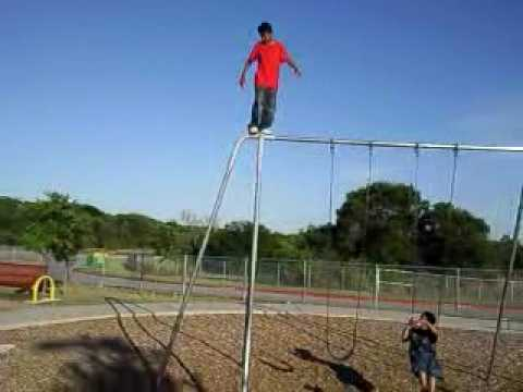 Bravest Kid Doing Backflips! (Must watch!)