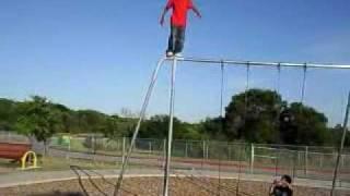 Bravest Kid Doing Backflips! (Must watch!)