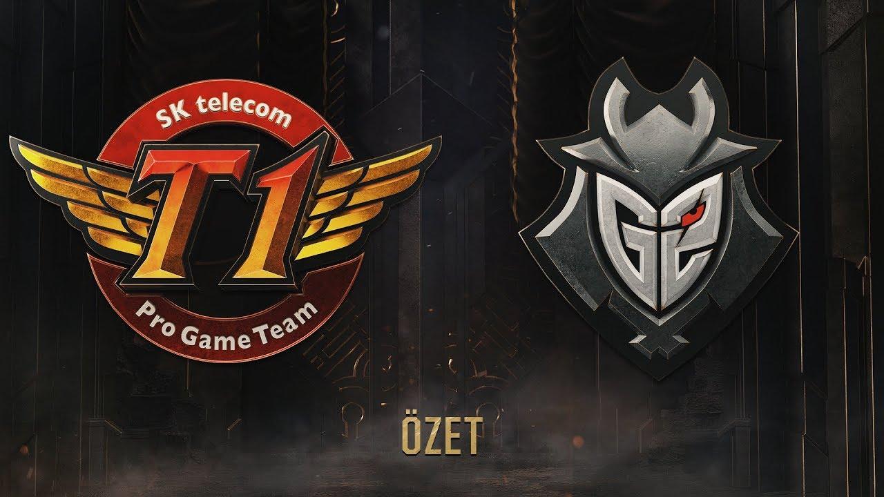 E-Spor, SK Telecom T1 ( SKT ) vs G2 Esports ( G2 ) 5. Maç Özeti | MSI 2019 Yarı Finali