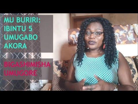 MU BURIRI: Ibintu 5 umugabo akora bigashimisha umugore