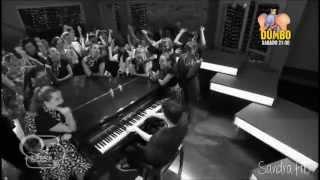 Violetta 2 - Federico baila sonámbulo mientras sueña con Ludmila (Capítulo 54)