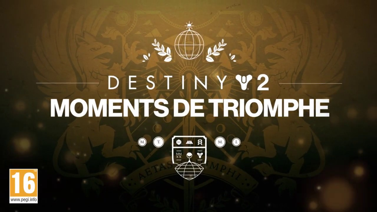 DESTINY 2 [FR] - TRAILER MOMENTS DE TRIOMPHE 2020