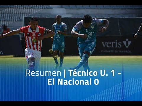 Tecnico U. El Nacional Goals And Highlights