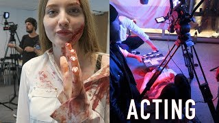 ACTING IN A HORROR FILM | Acting Student