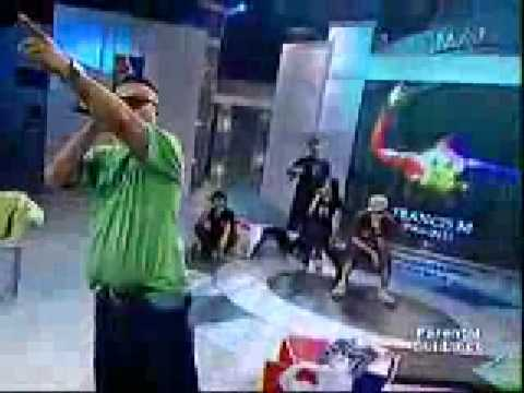 FrancisM Day @ Eat Bulaga Lando Gloc 9, Mobbstarr, Ron Henley Andrew E