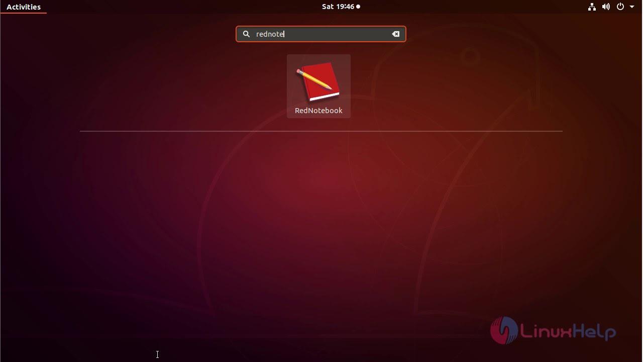 foto de How to install Rednotebook 2.5 on Ubuntu 18.04 | LinuxHelp Tutorials