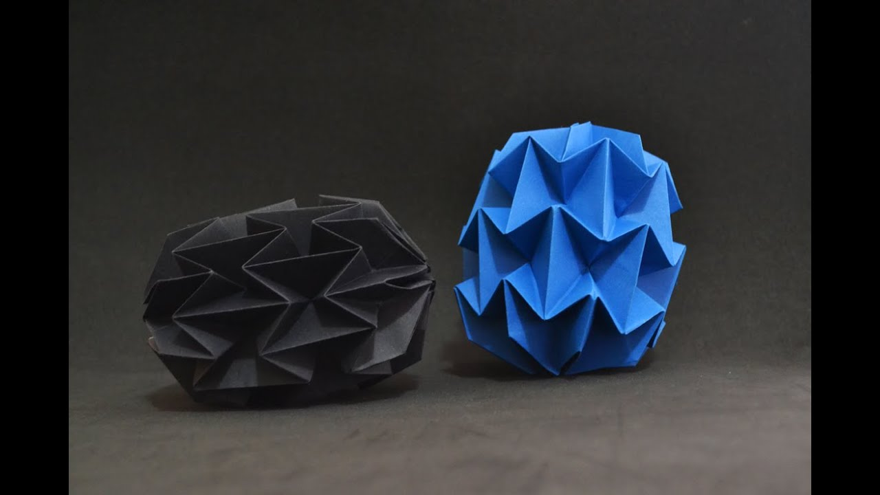 Papercraft Origami: Mini Magic Ball