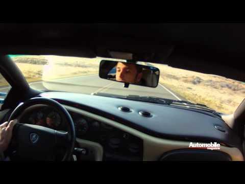 Lamborghini Miura, Countach, Diablo VT, Murcielago, and Aventador Accelerating