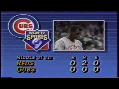 1989 MLB: Reds at Cubs 8/23/1989