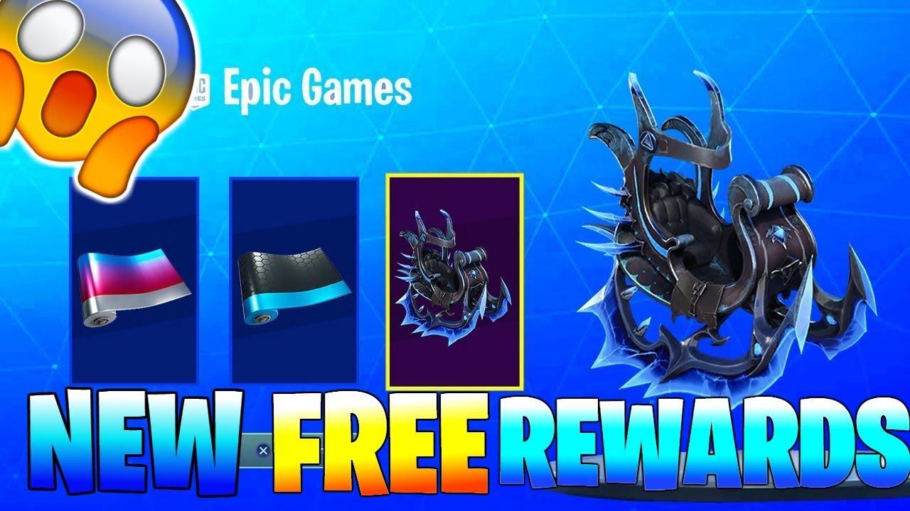 New Free Leaked Ice Storm Rewards Free Glider Wrap Fortnite