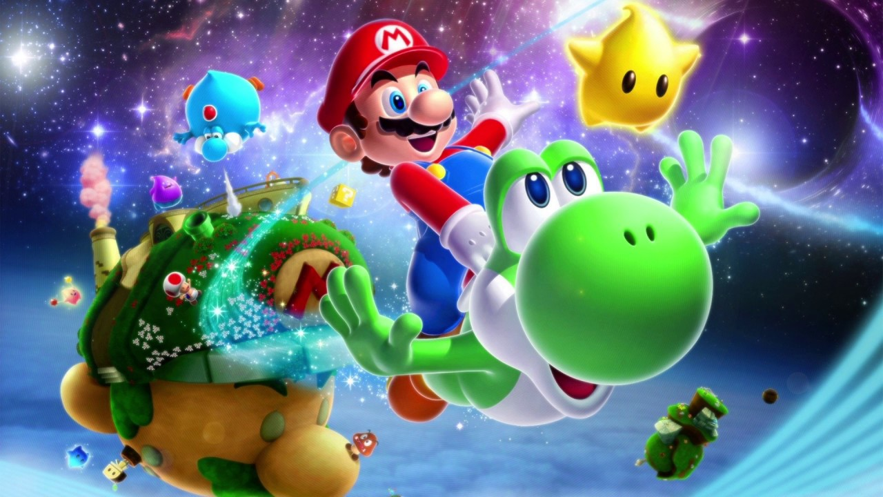 Super Mario Galaxy 2 THE END Part 72 All 242 Stars ...