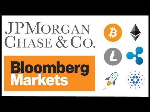 "JP Morgan & Bloomberg warming up to Cryptocurrency - JP Morgan report ""Crypto diversifies Portfolio"""