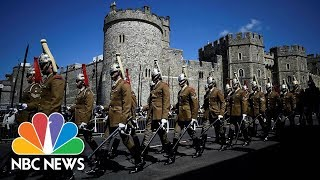 Carriage Procession Tours Windsor In Royal Wedding Warm-Up | NBC News