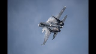 Highlights Of Russia S MAKS 2017 Airshow Futuristic Jets Battle Hardened Planes