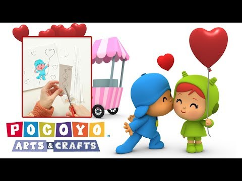 Pocoyo Arts & Crafts: Pocoyo's Valentine's Day Card | VALENTINE'S DAY