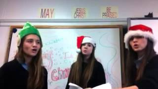 Math jingle- all I way for Christmas is math