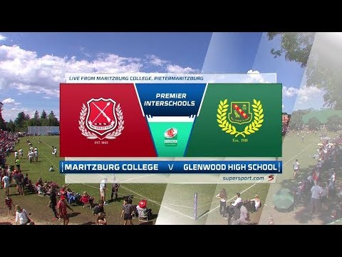 Premier Interschools Rugby -  Maritzburg College vs Glenwood High School - 1st half