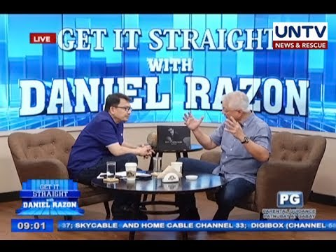 Rafael Alunan III talks about Mindanao martial law, EJK and West PH Sea