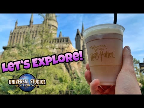 Let's Explore The Wizarding World Of Harry Potter!   Universal Studios Hollywood