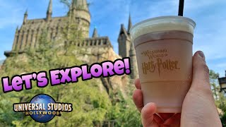Let's Explore The Wizarding World of Harry Potter! | Universal Studios Hollywood