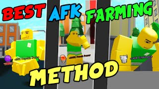 Super Power Training Simulator I Roblox - How to AFK farm Stats
