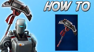 How To GET The HUNTING PARTY PICKAXE In Fortnite! (A.X.E)
