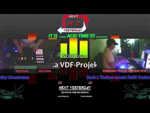♪♫► N-Dye aka VDF-Projekt #1 @ Back 2 Techno Show ◄♫♪